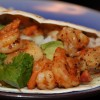 Scallop and Shrimp Tacos with Lime-Cilantro Rice