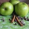 Chocolate Apple-Cinnamon Sundaes