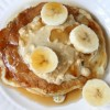 Peanut Butter-Banana Pancakes