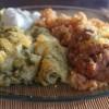 Seafood Enchiladas Verdes