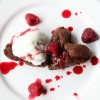 Heart Brownies à la Mode