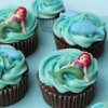 Ariel Cupcakes