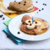 Mickey Mouse Pancakes {Chocolate Chip-Banana-Oatmeal Pancakes}