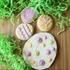 Easter Sugar Cookies with Naturally-Dyed Frosting