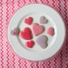 Heart Sugar Cookies with Almond Berry Icing
