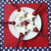 Patriotic Pound Cake Pops
