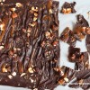 Salted Caramel Chocolate Hazelnut Bark