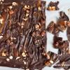 Salted Caramel Chocolate Hazelnut Bark