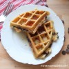 Chocolate Chip Banana Oat Waffles