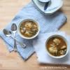 Chicken Potsticker Soup