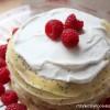 Almond Poppy Seed Crêpe Cake
