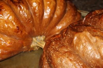 Making Pumpkin Purée