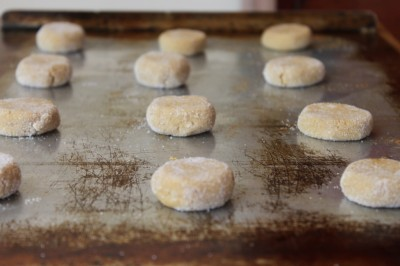 Gingersnap Cookies - Method