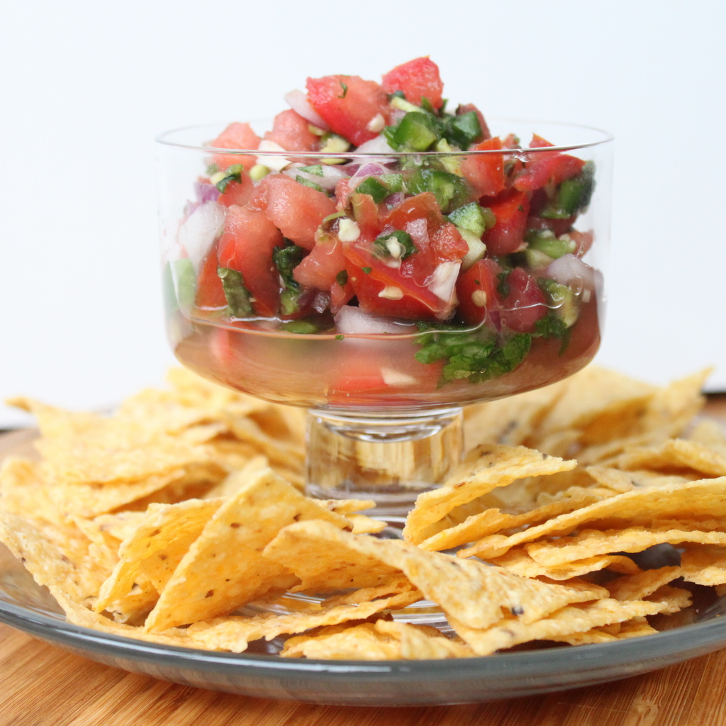 Salsa fresca is as flavorful as it is colorful. With every bite you ...