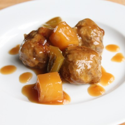 Sweet &amp; Sour Meatballs