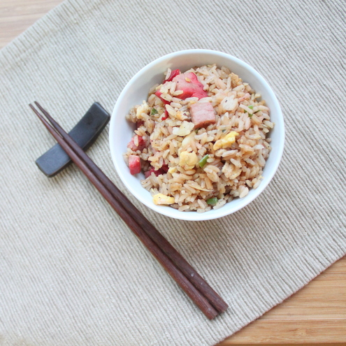 Pork Fried Rice {Cha Han}