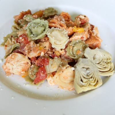 Chicken & Artichoke Tortellini Salad