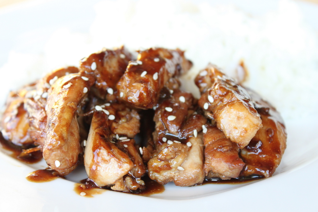 Teriyaki Chicken | Itsy Bitsy Foodies