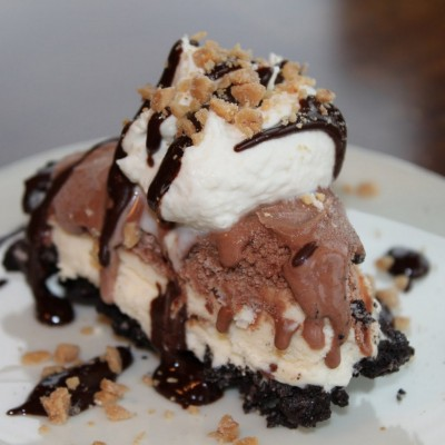 Mud Pie with Homemade Whipped Cream