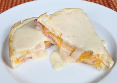 Crôque-Monsieur with Mornay Sauce