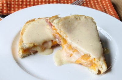 Crôque-Monsieur (Deluxe Ham & Cheese Sandwich)