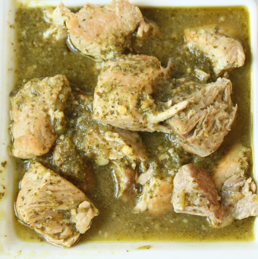 Chile verde is a Mexican stew that is traditionally made with pork and ...