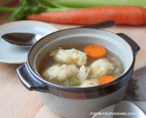 Chicken Dumpling Soup