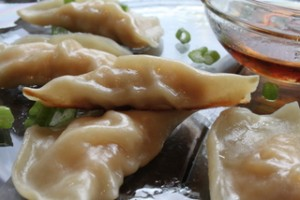 Homemade Gyoza with Store-Bought Wrappers