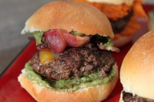 Bacon-Guacamole Slider