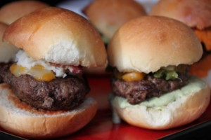 Bacon-Mashers & Southwest Salsa Sliders