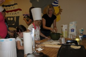 Making Flour Tortillas