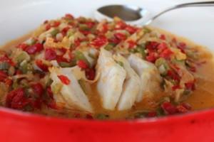 Cuban Coconut Fish