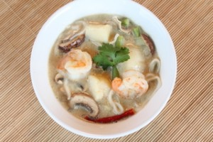 Thai Curry Seafood Soup