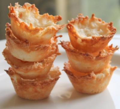 Coconut Macaroon Tart Shells