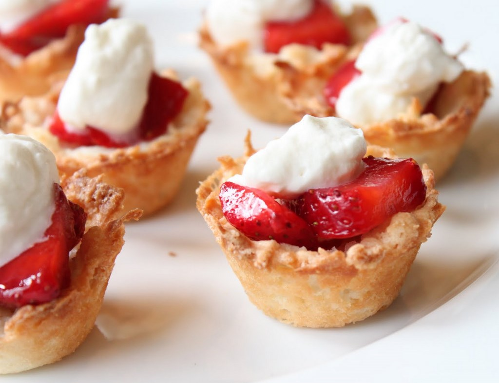 ... macaroon bars almond macaroon galette with strawberries almond