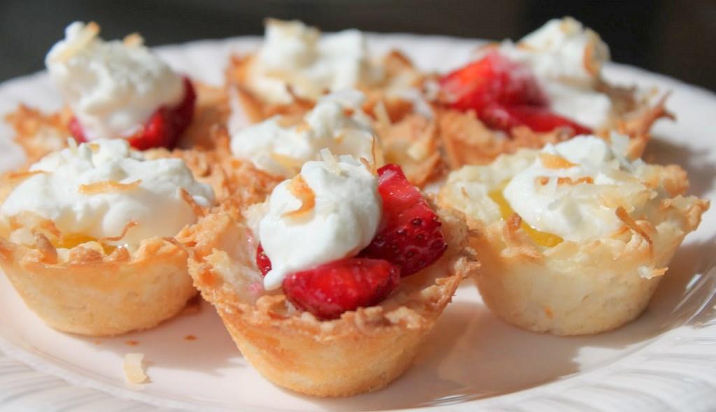 Coconut Macaroon Tartlets Recipes — Dishmaps