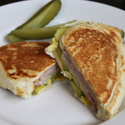 Cuban Ham &amp; Cheese Sandwich