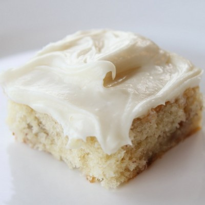 Banana Bar with Cream Cheese Frosting