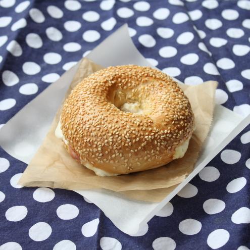Bagel Burger | Itsy Bitsy Foodies