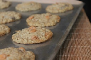 Butterscotch-Chocolate Chip-Oatmeal Cookies
