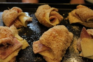 Baking Chicken Cordon Bleu