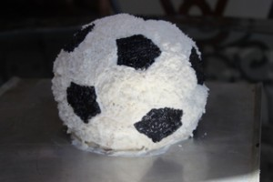 Soccer Ball Cake