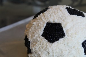 Soccer Bal Cake