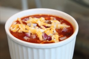 Left-over Chicken Chili