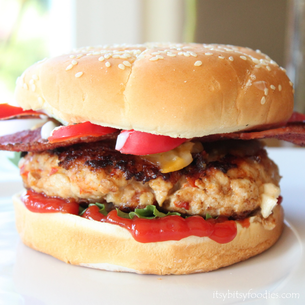 Bacon Turkey Burgers
