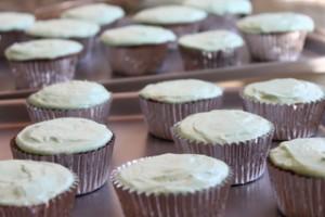 Nutella & Chocolate Cream-Filled Cupcakes