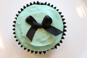 Cupcakes à la Tiffany's