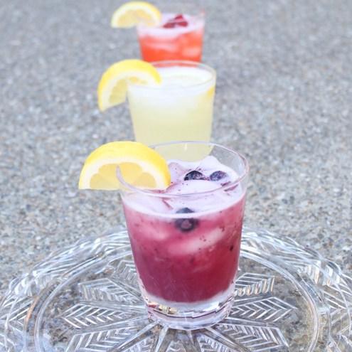 Homemade Blueberry Lemonade