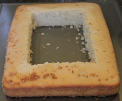 Treasure Chest Cake - Method
