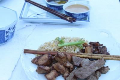 Teppanyaki-Style Meal